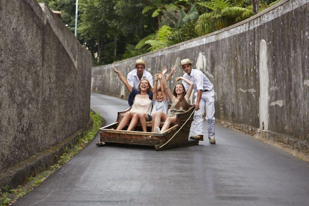 viagens dos cestos da Madeira